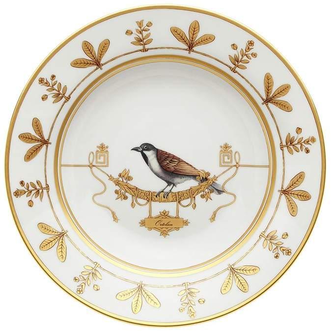 Richard Ginori 1735 Voilère Ortolan Soup Plate (24.5cm)