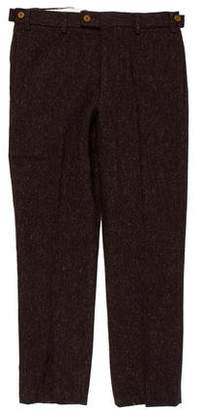 Visvim Mélange Wool & Silk-Blend Pants