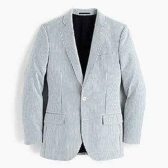 J.Crew Ludlow Slim-fit wide-lapel suit jacket in Japanese seersucker