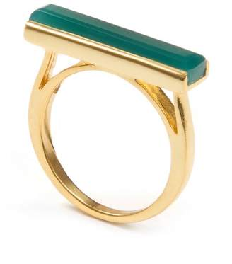 Jewel Tree London - Urban Ring Green Onyx