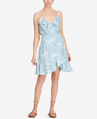 Denim & Supply Ralph Lauren Printed Flounce Dress $98 thestylecure.com