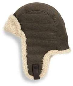 UGG Woven Shearling Trapper Hat