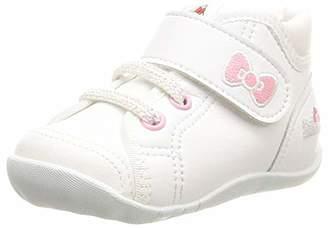 MoonStar (ムーンスター) - [ムーンスター] ベビーシューズ 子供 靴 ハローキティ マジック ゆったり B108KT MS B101KT ホワイト 13.5 cm 2E