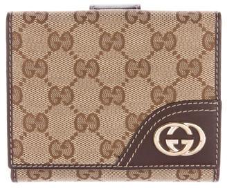 GucciGucci GG Canvas Britt Compact Wallet