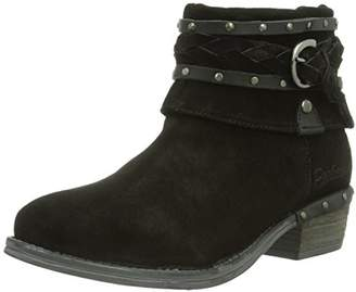 Dockers Womens 354043-141001 Unlined slip-on boots short length Black Schwarz (schwarz 001) Size: 3 UK