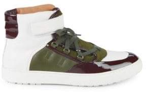 Bally Osman High-Top Leather Sneakers
