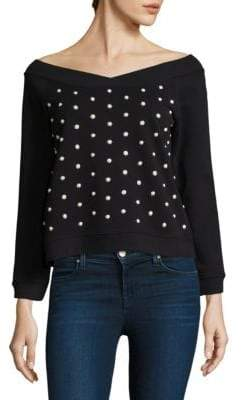 Rebecca Minkoff Macey Pearl Sweatshirt