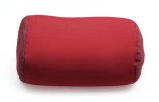 """Deluxe Comfort Mooshi Squish Microbead Bed Pillow (14"""" x 7"""") Airy Squishy Soft Microbeads Eighteen Fun Bubbly Colors to Choose From Cuddly and Fun Dormroom Accessory Bed Pillow, Maroon"""
