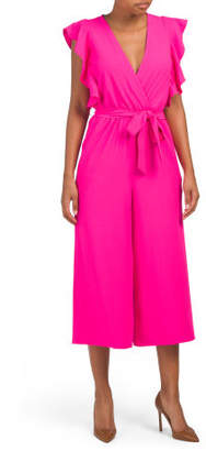 Made In Usa Zia Solid Jumpsuit