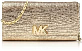 Michael Kors Mott Metallic Leather Chain Wallet