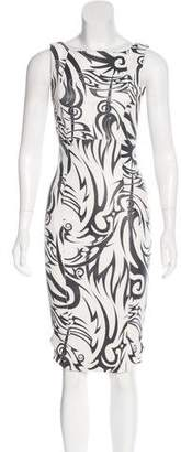 Thomas Wylde Leather Knee-Length Dress w/ Tags