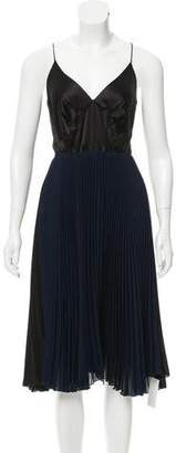 Loyd/Ford Silk Pleated Dress w/ Tags