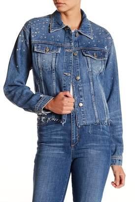 Joe's Jeans Embellished Boyfriend Jacket