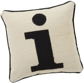 Pottery Barn Teen Alphabet Needlepoint Pillow