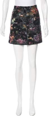 Alice + Olivia Brocade Mini Skirt w/ Tags