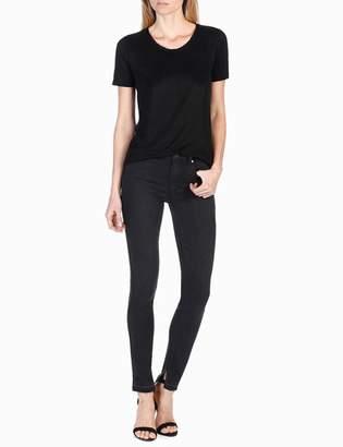 Rosie HW x PAIGE Collection Cassandra Shirt - Black $98 thestylecure.com
