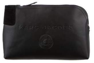 Marc Jacobs Leather & Suede Zip Pouch
