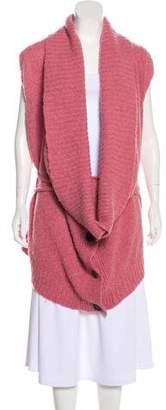 Ann Demeulemeester Sleeveless Knit Cardigan