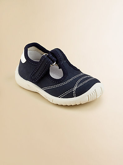 Naturino Infant's & Toddler's Canvas T-Strap Sneakers