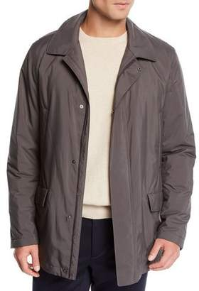 Loro Piana Men's Firenze WindStorm Fur-Lined Jacket