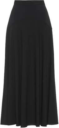 The Row Daya stretch-wool midi skirt
