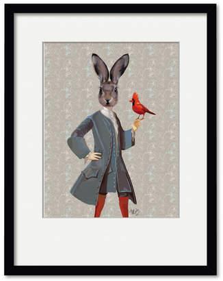 Courtside Market Wall Decor Rabbit And Bird Gallery Framed Art Print