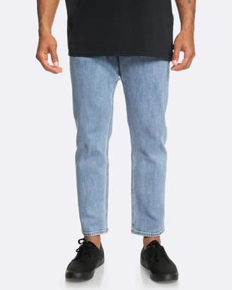 Quiksilver Mens Originals Cropped Jeans