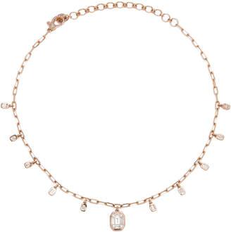Shay Illusion Baguette Drop Necklace