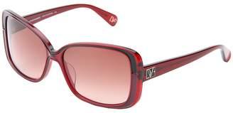 Diane von Furstenberg Josalyn Plastic Frame Fashion Sunglasses