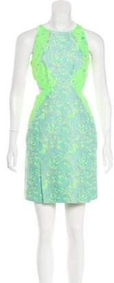 Richard Nicoll Brocade Cutout Dress