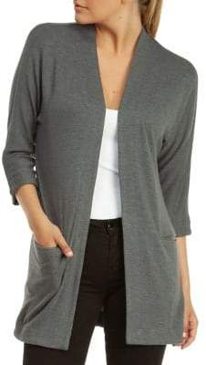 Dex Dolman-Sleeve Knit Cardigan