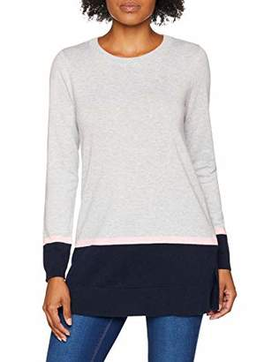 Crew Clothing Women's Colour Block Tunic Long Sleeve Top,14