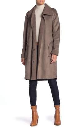 Love Stitch Reversible Faux Shearling Coat
