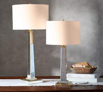 Pottery Barn Aurora Table & Bedside Lamps