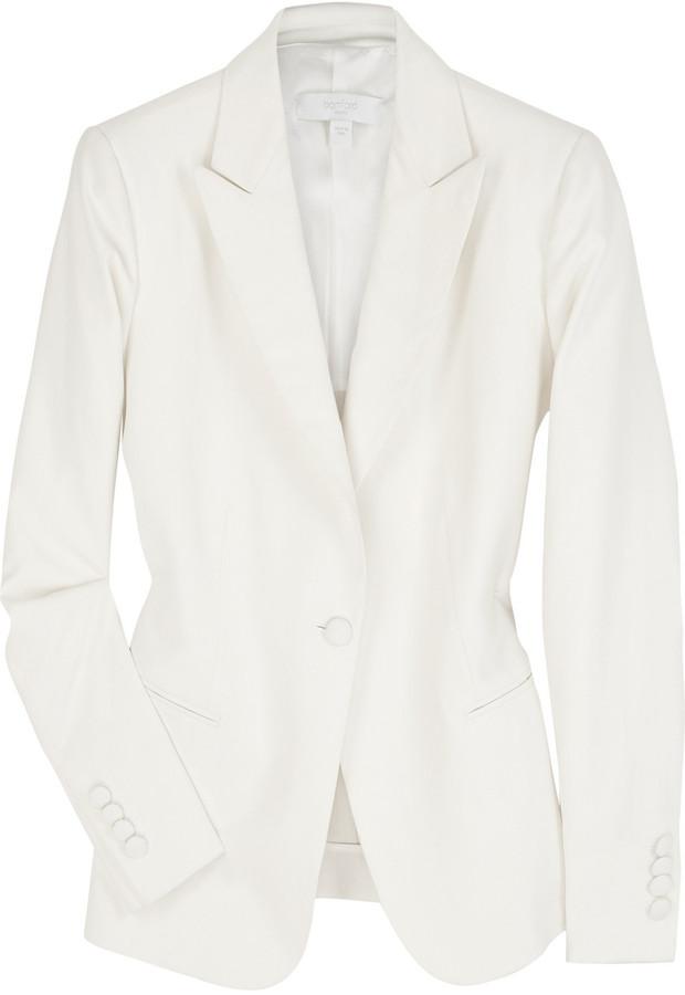 Bamford Silk one button blazer
