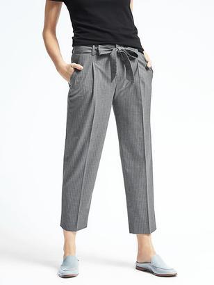Avery-Fit Tie Stripe Pant $98 thestylecure.com