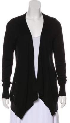 Soyer Silk & Cashmere Open Front Cardigan