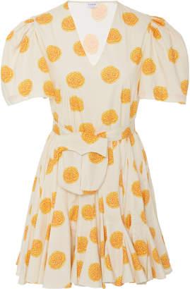 Rhode Resort Vivienne Floral-Print Mini Dress