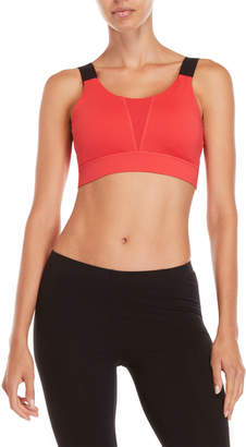 DKNY Fitted Wide Strap Sports Bra