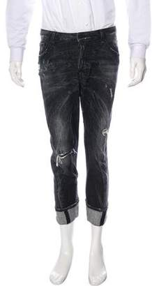 DSQUARED2 2016 Workwear Cropped Jeans