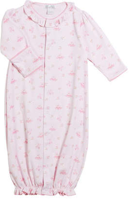 Kissy Kissy Prima Ballerina Pima Convertible Gown, Size Newborn-S