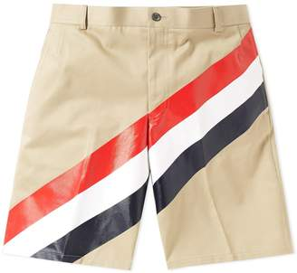 Thom Browne Diagonal Stripe Chino Short
