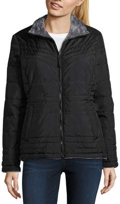 Free Country Lightweight Water Resistant Puffer Jacket-Tall