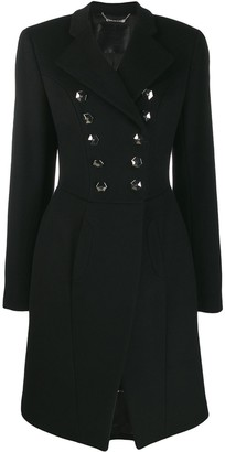 Philipp Plein double breasted coat