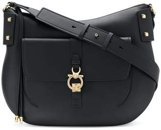 39322bee82 Shop New In at Farfetch · Salvatore Ferragamo Gancio shoulder bag