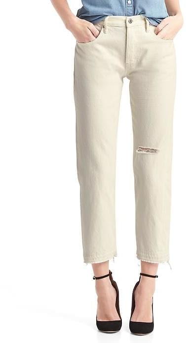 GapORIGINAL 1969 destructed vintage straight jeans