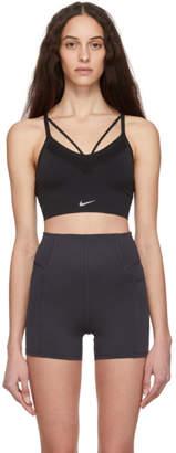 Nike Black Seamless Light Sports Bra