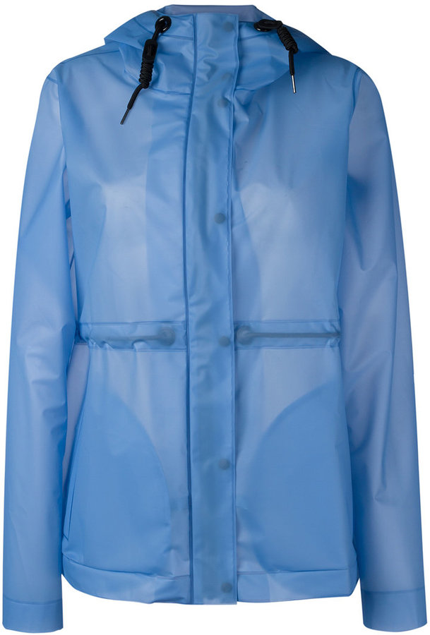 HunterHunter hooded raincoat
