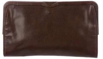Bottega Veneta Leather Medium Clutches