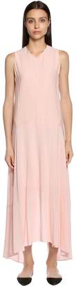 Sportmax Georgette & Crepe Midi Dress